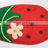 fruit/bag shape bath tufted mat/carpet