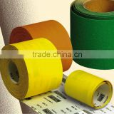 yellow 100% silica sand abrasive sanding paper