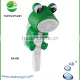 Frog cartoon shower kids shower baby shower faucet animal hand shower head bath gift set