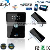 Upgraded motion detection wifi video doorbell long range wireless doorbell for apartments