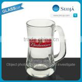 SH271 Budweiser beer glass stein tumbler cuo mug decal print Budweiser beer glass tumbler stein drinking beer glasses