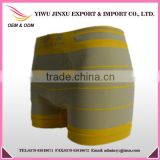 Nylon Spandex Underwear Wholesale Custom Men Boxer Briefs with Stripes