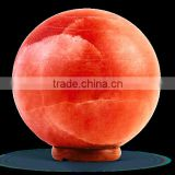 Ball Geometrical Shape Himalayan Rock Salt Lamp