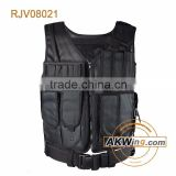 Hunting Black High Denier Nylon Military Vest Secutiry Modular Tactical Vest/Police Vest