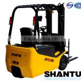 Shantui 1.5 ton mini electric forklift truck                                                                         Quality Choice