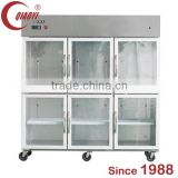 QIAOYI C1 Six Door Bakery Refrigerator Showcase