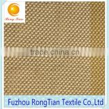 Wholesale soft light yellow polyester tricot diamond mesh fabric for chair