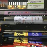 Digital Flag banner printers with double DX5113 Epson heads with automatic heating sytem