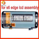 Best price lcd touch screen display For Samsung Galaxy S6 Edge, For Samsung Galaxy S6 Edge lcd digitizer perfect testing