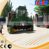 Machine for compost turning and mixing,heavy duty M3600 compost turner/compost mixing machine price