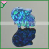 factory buy in mexico 55 colors synthetic black fire fatima opal hand