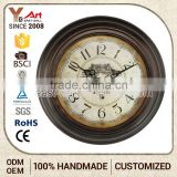 Art Work Craft Antique Style Funny Rectangle Wall Clock