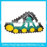 rubber coating crawler base for agricultural machinery