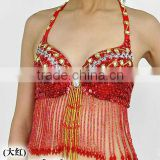 SWEGAL SGBDB130502 1lor red women 2013fashion lady women belly dance sexy bra