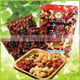 High quality and convenient nuts & fruits good for health with multiple functions made in Japan