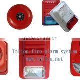 Fire siren in alarm Fire Alarm 3 tones optional Strobe Lights Sound Fire Alarm Siren police siren for fire alarm system