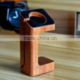 Charger Holder for apple watch,wood charging cradle stand for Apple Watch, Wood Charging Stand