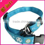 Custom Wholesale Breakaway Pet Belt Printing Trainer Nylon Dog Collar Alarm Polo Ralph Leash Buckle
