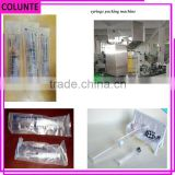 Disposable pharmaceutical syringe packing machine