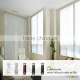 Bintronic Taiwan RF Remote Control PVC Strip Motorized Vertical Blinds For Casement Window