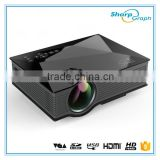 UNIC Hot Product 1200Lumens Full HD Mili Pico LED Wifi Projector UC46 with Rich Interfaces