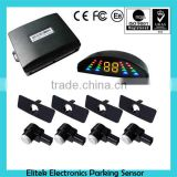 car sensor for parking,flat parking sensor. led display parking sensor with OEM car sensor