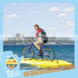 Funny water bike pedal boats for sale