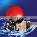 custom design logo printed silicone swim cap,colorful waterproof any size silicone swimming cap                                                                                                         Supplier's Choice