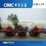 CIMC Second Hand Cement Bulker tanker Trailer, 3 Axles bulk cement trailer, bulk cement trailer