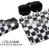 Hot sale Box style Outdoor Plastic chess set for sale