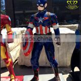 FRP movie characters Superman cartoon sculpture animation game hall decoration
