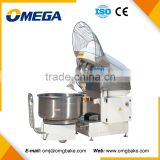 Omega commercial stainless steel spiral mixer with fixed /custard cake making machine
