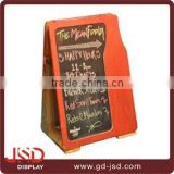 Directly factory price free standing chalkboard, decorative standing chalkboard, a-frame standing chalkboard