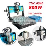 Wide varieties MINGDA aluminum cnc router 4 axis / 6040 cnc router carving / 3d high quality cnc router wood