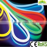 factory price indoor outdoor led flexible strip 5m/roll for christmas decoration with R/G/B/Y/W/RGB option