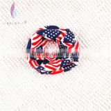 Wholesale Fashion America Flag Printed Cotton Infinity Scarf For Children