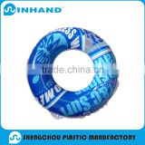 "EN71 customised 35"" adult Swimming ring, blue pool float ring, outdoor sports swimming tube"