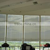 Electric motorized bamboo window shades fabric roman shades