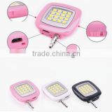 New Product Portable LED Night Using Selfie Enhancing Dimmable Flash Light Cellphone Camera Flash