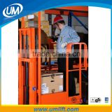 A Good Assistant 200kg Loading Hydraulic One Person Warehouse Lift Trolley Platform With Lifting 2.7-5.5 Meters