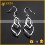 Screw fashion earring dubai imitation jewellery silver plated cartilage earrings fashionable imitation jewelry for daily wear