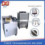 applicable stainless steel material pneumatic portable fiber glass cnc transmission laser welding machine