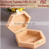 Hot Selling Bamboo Wooden Tea Bag Packing Box