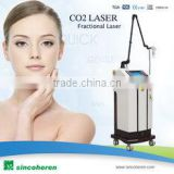 Professional Laser Scar Removal Machine Face Whitening / RF Co2 Fractional Laser Treatment Tattoo /lip Line Removal Eliminate Body Odor