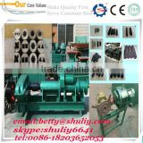 new design coal dust, coke powder, pulverized coal extruding machine/carbon powder moulding/forming machine