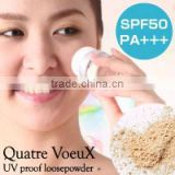 QUATRE VOEUX sunscreen brands face powder with SPF 50 +++