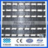 pvc coated polyester geogrid for engineering reinforcement,10%,13% elongation,50x50mm holes size