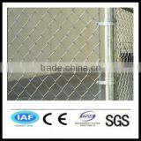 Wholesale China CE&ISO certificated galvanized steel pipe chain link fence(Pro manufacturer)