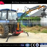 Tractor Rear Mounted 3 Point Forest/Timber Loader Crane