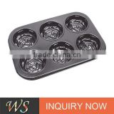 Non-stick Carbon Steel Rose Shape Cake Tool